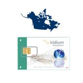 Canada Alaska Iridium Prepaid Card