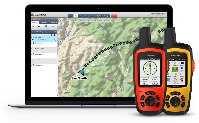 inReach Enterprise Devices