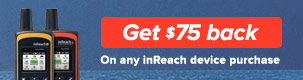 inReach Summer Promo $75 in Rebates