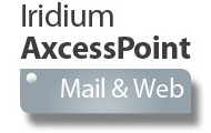 Iridium AxcessPoint Mail & Web