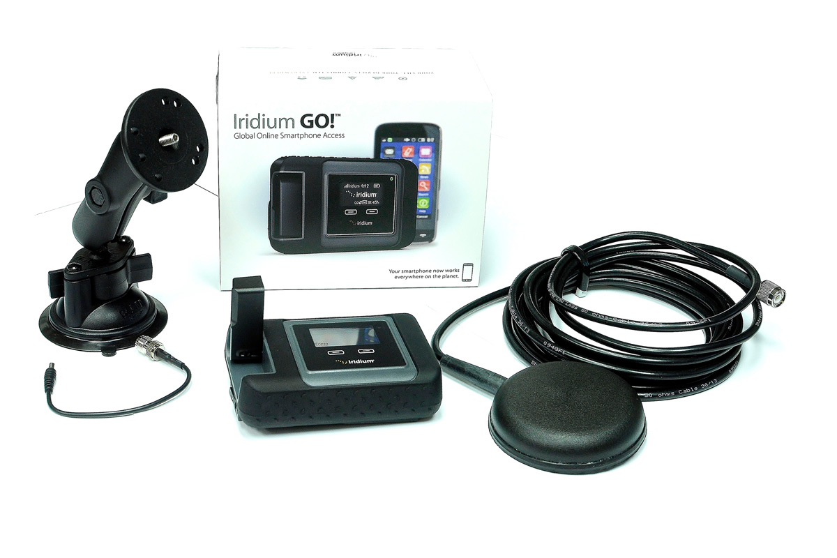 Iridium GO! In-Vehicle Kit