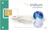 Iridium Prepaid Card